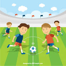 Image result for football match clipart