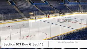 Nj Devils Seating Chart 3d Preds Add Virtual Venue 2 0 Enables Digital Seat Adds Changes
