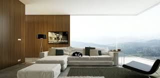 Wood Walls Living Room Design Living Room Modern Living Room Design With Cozy Fabric Caise Sofa And Chair On The Dark Rug Combine With Brown And Glass Wall For A Great View Marvelous