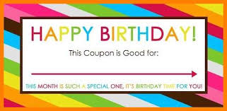 microsoft word birthday coupon template 9 birthday voucher template word cashier resumes