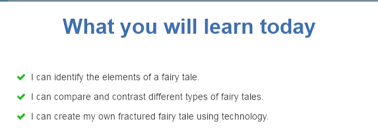 Elements Of A Fairy Tale Process Fun With Fractured Fairytales Webquest Libguides At