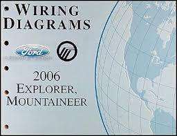 2006 ford explorer mercury mountaineer wiring diagram manual original