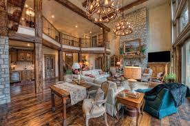 Elegant French country style meets a rustic lodge atmosphere in the Pointe  Royale home of Bob and Linda Edmonds.