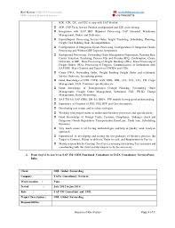 ... 4. Ravi Kumar (SAP TM Consultant) ...