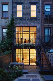 carroll gardens townhouse in new york by lang architecture