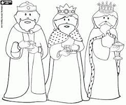 Kleurplaten Materiaal Voor Drie Koningen Kleurplaat