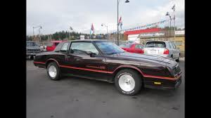 1985 CHEVY MONTE CARLO SS COUPE $6500 - YouTube