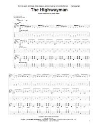 The Highwayman Sheet Music To Download