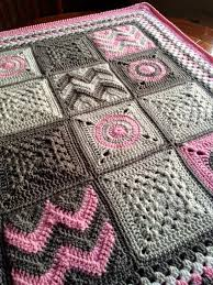 Easy Granny Square Baby Blanket Pattern