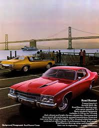 1973 road runner specs colors facts history and performance manufacturer original s brochures
