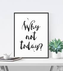 inspirational artwork for office. Inspirational Quote, Office Decor, Printable Art, Black And White Typography Poster, Motivational Artwork For