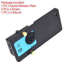Universal Adapter Mount Quick Release <b>Plate</b> Sports Camera ...