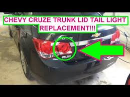 chevrolet cruze trunk lid tail light bulb and assembly replacement chevrolet cruze trunk lid tail light bulb and assembly replacement 2010 2011 2012 2013 2014 2015
