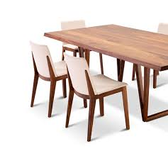 an elegantly minimal aesthetic is appa in the aspen dining chairs which partner perfectly with the aspen dining table