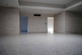 refinished vintage terrazzo floor