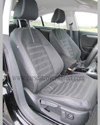 volkswagen vw passat cc seat covers charcoal leatherette more images to view