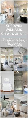 one room challenge farmhouse style family room reveal featuring sherwin williams light french gray paint room
