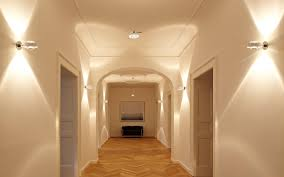 hotel hallway lighting ideas. Exellent Hotel Modern Wall Sconces With Bright Light In Hallway Lighting Ideas Intended Hotel F