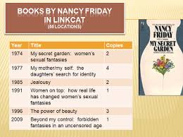 nancy friday 84 best ing student of gender politics s the new york times 11 5 2017