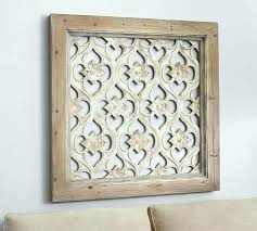 carved wooden wall art wood india