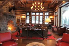 Living Room Stylish Rustic Magnificent Cabin Living Room Decor