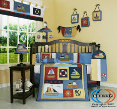 geenny boy sailor baby bedding collection