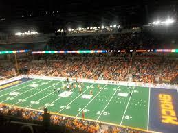 Spokane Arena Section 218 Row L Seat 2 Spokane Shock Vs