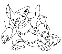 pokemon coloring pages ex