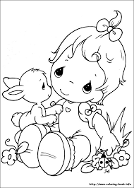 Small Picture Precious Moments coloring picture Pinteres