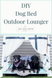 diy dog house instructions diy outdoor dog bed lounger doggy barkitecture
