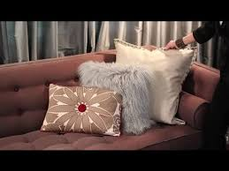 how to decorate a brown sofa with