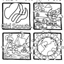 Small Picture Girl Scouts Coloring Pages Bestofcoloringcom