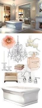 romantic style roman freestanding bathtub by maax dusty pink pastel colors