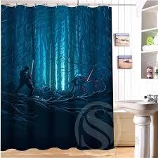 star wars shower curtain inch custom made star wars shower curtain star wars 12 pk shower curtain hooks