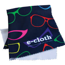 eyeglass cleaning cloth image