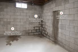 how to fix leaking basement walls.  How Types Of Structural Basement Damage McCoy Contractors For How To Fix Leaking Basement Walls N