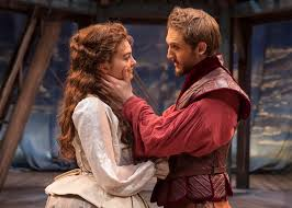 theater review shakespeare in love chicago shakespeare  the rest opening day of romeo and juliet is literature if not history you can t keep a good bard down supposedly writing between the stiff two gentlemen