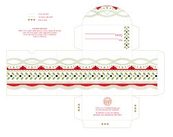 Free Printable Candy Box Template