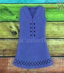 "Dream Catcher Dolls ITH Small DollElf Diamond Dress Embroidery Design 100 "" Dolls 74"