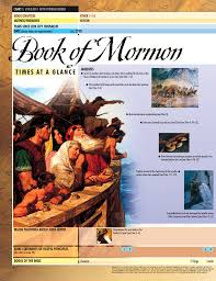 Book Of Mormon Times At A Glance Chart 1 Ether And 1 Nephi