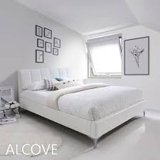 Alcove Platform Bed | Available in: Queen, King