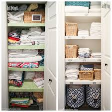 organized linen closet i m loving the transformation