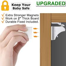 Child Safety Magnetic Cabinet Locks Extra Stronger Children Proof