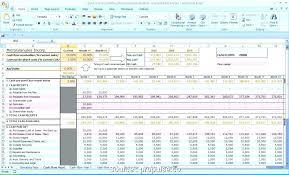 3 Year Revenue Forecast Template Financial Projection Unique
