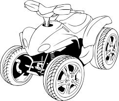 Dessins Coloriage Quad Imprimer Dessiner Moto Dessin Quadrillage