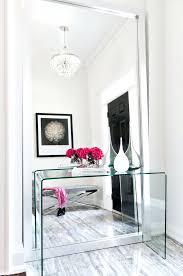 hallway furniture ideas contemporary interiors transpa console table hallway furniture ideas crystal chandelier hallway furniture ideas