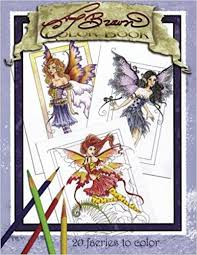 amy brown faeries coloring book amy brown 9781523651603 amazon books
