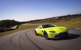 The 2018 Aston Martin V8 Vantage Is Perfect In Lime Green And Every Other Color