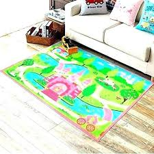 kids bedroom rugs carpet for pink girls cartoon castle rug cute girl fl size of