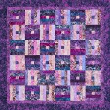 Free Batik Quilt Patterns | AllPeopleQuilt.com & Plum Batik Throw Adamdwight.com